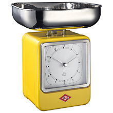 Buy Wesco Retro Scale With Clock Online at johnlewis.com