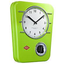 Buy Wesco Wall Clock and Kitchen Timer Online at johnlewis.com