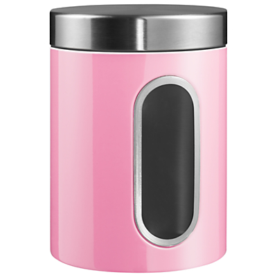 Wesco Steel Kitchen Storage Canister with Window