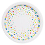 John Lewis Happy Birthday Plates, Pack of 8