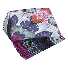Buy John Lewis Kaleidoscope Leaf Napkins, Pack of 20 Online at johnlewis.com