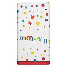 Buy John Lewis Happy Birthday Table Cover Online at johnlewis.com