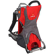 Buy LittleLife Adventurer Baby Carrier, Red/Grey Online at johnlewis.com