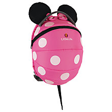 Buy LittleLife Minnie Mouse Toddler Daysack, Pink Online at johnlewis.com