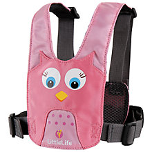 Buy Littlelife Owl Animal Harness, Pink Online at johnlewis.com