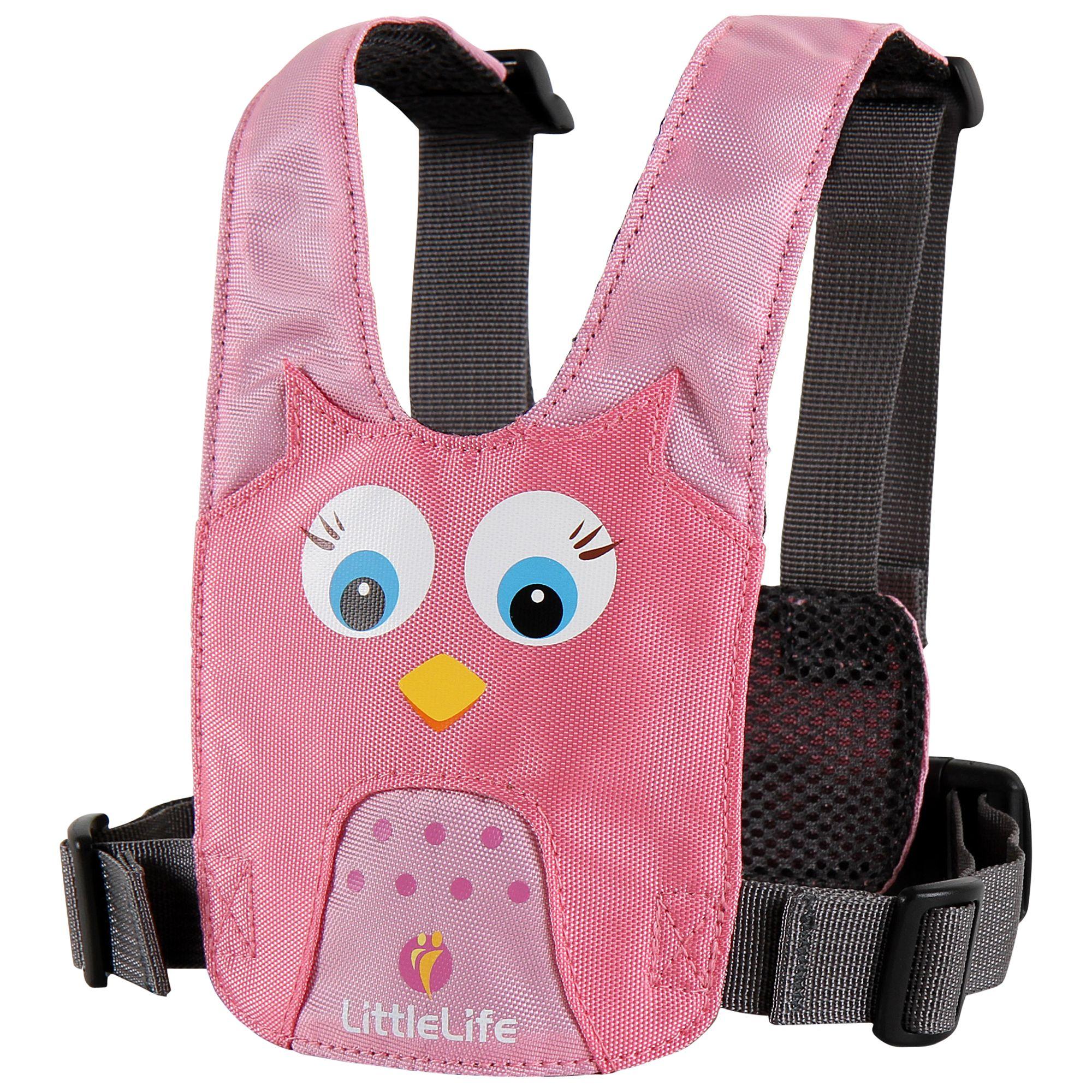 Littlelife LittleLife Owl Animal Harness, Pink