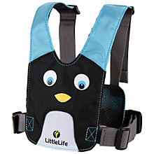 Buy LittleLife Penguin Animal Harness, Black/Blue Online at johnlewis.com
