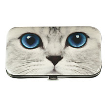 Buy Catseye Silver Kitty Case Nail Care Set Online at johnlewis.com