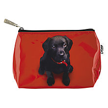 Buy Catseye Black Lab On Red Small Bag, Red Online at johnlewis.com