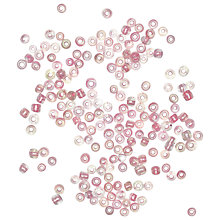 Buy Rico Rocaille Beads, Pale Pink Online at johnlewis.com