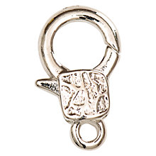Buy Rico Decorative Jewellery Spring Catch, Silver Online at johnlewis.com
