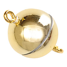 Buy Rico Magnetic Clasp, 12mm, Gold Online at johnlewis.com