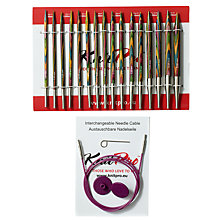 Buy Knit Pro Deluxe Knitting Needle Set Online at johnlewis.com