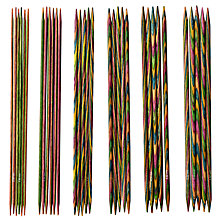 Buy Knit Pro Double-Pointed Knitting Needle Set, 20cm Online at johnlewis.com