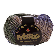 Buy Noro Hanabatake Wool-blend Aran Yarn, 50g Online at johnlewis.com