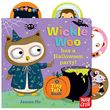 Buy Wickle Woo Has A Halloween Party Book Online at johnlewis.com