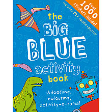 Buy The Big Blue Activity Book Online at johnlewis.com