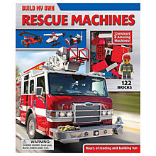 Buy Build My Own Mighty Machines Book & Bricks Online at johnlewis.com