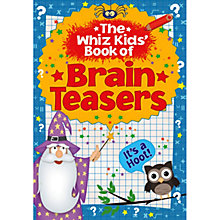 Buy The Whiz Kids' Book Of Brain Teasers Online at johnlewis.com