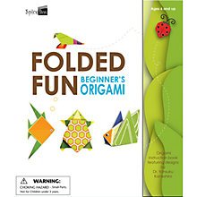 Buy Folded Fun: Beginner's Origami Book Online at johnlewis.com