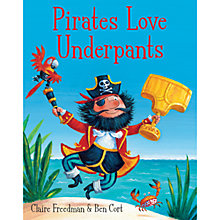 Buy Pirates Love Underpants Book Online at johnlewis.com