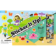 Buy Sticker It Up Activity Book & Stickers Set Online at johnlewis.com