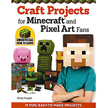 Buy Craft Projects For Minecraft And Pixel Art Fans Online at johnlewis.com