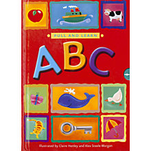 Buy Pull & Learn ABC Book Online at johnlewis.com
