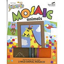 Buy Let's Make Mosaic Animals Craft Kit Online at johnlewis.com