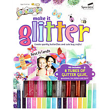Buy Let's Make Make It Glitter Craft Kit Online at johnlewis.com