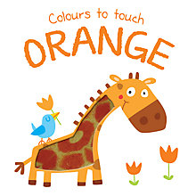 Buy Colours To Touch Orange Book Online at johnlewis.com