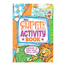 Buy My Super Activity Book Online at johnlewis.com