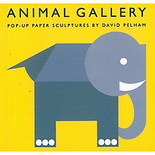 Buy Animal Gallery Pop-Up Paper Sculptures Book Online at johnlewis.com