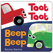 Buy Toot Toot Beep Beep Book Online at johnlewis.com