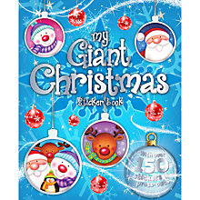 Buy My Giant Christmas Sticker Book Online at johnlewis.com