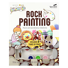 Buy Let's Make Rock Painting Book & Craft Set Online at johnlewis.com
