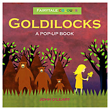 Buy Fairytale Colours Goldilocks Pop-Up Book Online at johnlewis.com