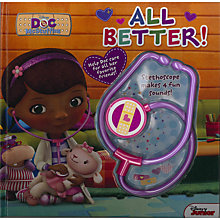 Buy Doc McStuffins Book & Toy Stethoscope Online at johnlewis.com