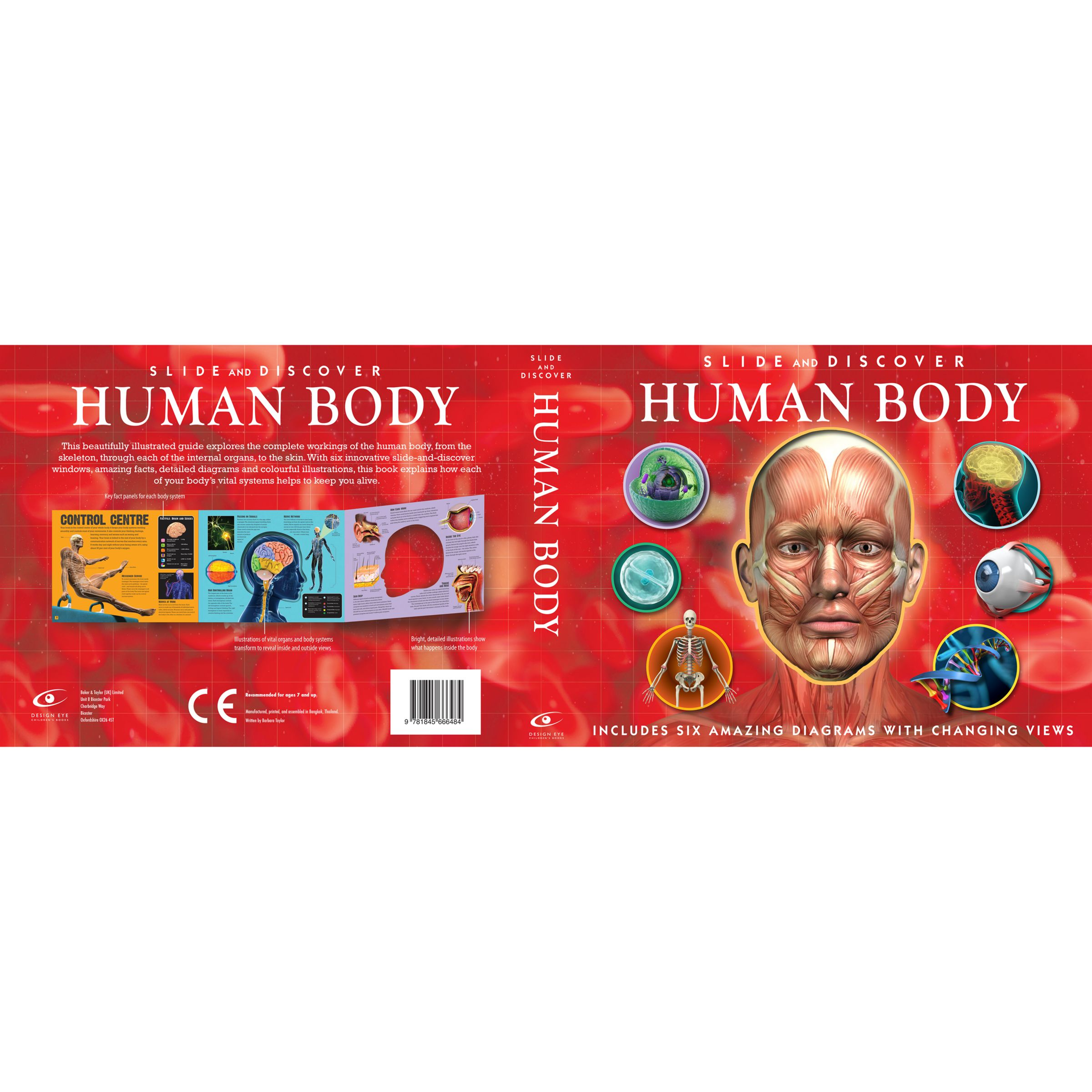 Baker & Taylor Slide And Discover: Human Body Book