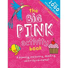 Buy The Big Pink Activity Book Online at johnlewis.com