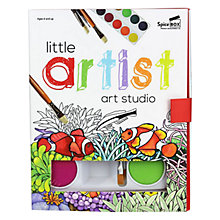Buy Little Artist Art Studio Book & Paint Set Online at johnlewis.com