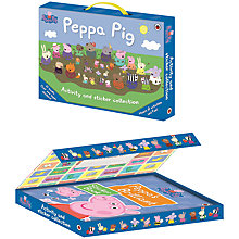 Buy Ladybird Peppa Pig Activity & Sticker Collection Online at johnlewis.com