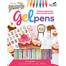 Buy Let's Make Gel Pens Craft Kit Online at johnlewis.com
