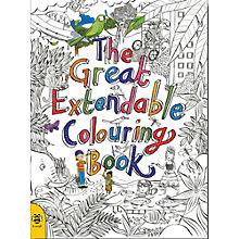 Buy The Great Extendable Colouring Book Online at johnlewis.com