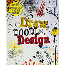 Buy Draw, Doodle, Design Activity Book Online at johnlewis.com