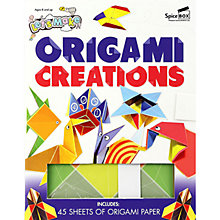 Buy Let's Make Origami Creations Book & Craft Kit Online at johnlewis.com