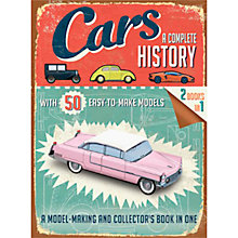 Buy Cars: A Complete History Book & Models Kit Online at johnlewis.com