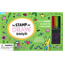 Buy The Stamp & Doodle Activity Kit & Book Online at johnlewis.com