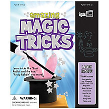 Buy Amazing Magic Tricks Book & Magic Kit Online at johnlewis.com