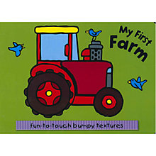 Buy My First Farm Textured Board Book Online at johnlewis.com